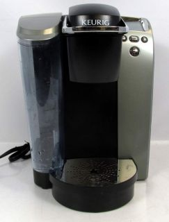 KEURIG B70 PLATINUM SINGLE CUP COFFEE MAKER EXTRA LARGE WATER