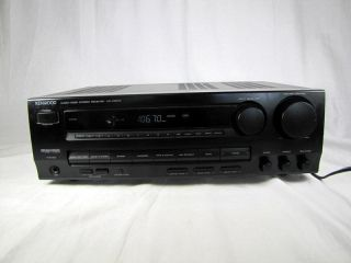 Kenwood Audio Video Stereo Receiver KR V5570 Tuner Home Audio Stereo
