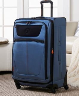 PK Phil Keoghan Now 28 Spinner Upright Luggage Sky Blue