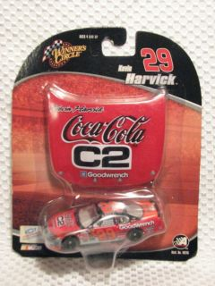 Kevin Harvick NASCAR Winners Circle 2004 Coca Cola Car