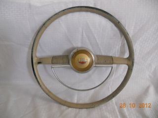 Vintage Ford Steering Wheel