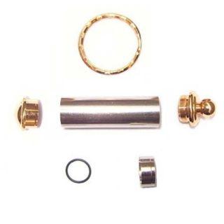 Gold Pill Box Key Chain Kit Wood Turners Kit