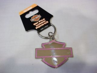 2006 2007 2008 FORD HARLEY DAVIDSON F150 F250 WOMANS KEY CHAIN METAL