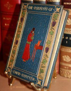 Fine Binding 1896 The Rubaiyat of Omar Khayyam Bayntun Bath E