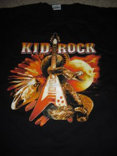 Kid Rock Live Trucker 2006 Tour T Shirt New