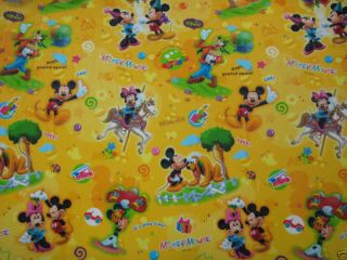 Parklon Kids Baby Kids Play Mat Rug Disney Mickey Minnie Pluto Deisgn