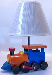 Childrens Train Lamp Great for Any Kids Room or in The Babys Nursery