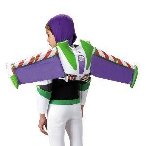 Buzz Light Year Jet Pack for Toy Story Costume Kids Size Inflatible