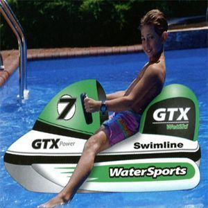 Jet Ski Wet Ski Inflatable Kids Swimming Pool Water Sport Rider