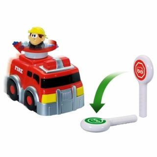 Kid Galaxy 147523 My 1st RC Spin N Go Fire Truck