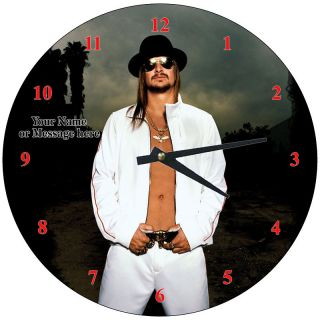 Personalized Kid Rock Wall Clock