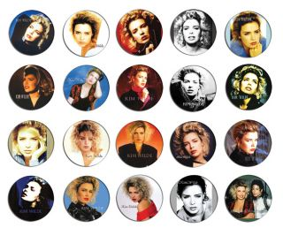 Kim Wilde 80s Image Pin Pinback Button Badge Magnet Keychain Set 5 20