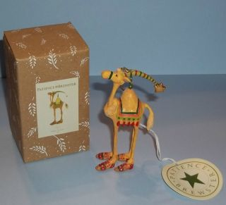 Christmas Krinkles Harold The Camel Mini Ornament Patience Brewster