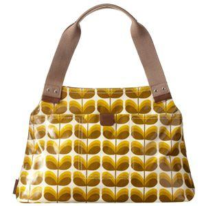 Orla Kiely Small Shadow Stem Print Shoulder Bag