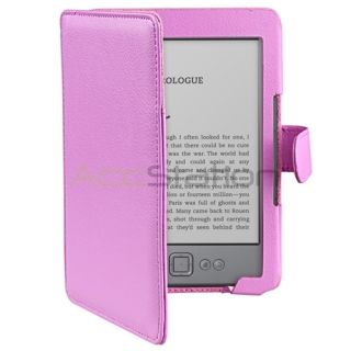 Folio Leather Carry Skin Case Cover Pouch For  Kindle 4 6 inch 6