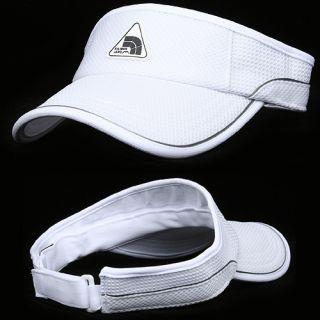Visor KILIMANJARO WHITE Sunvisor Golf Hat Cap Sun shade Outdoor Sports