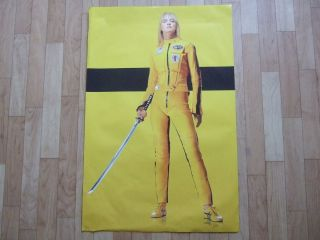 Kill Bill Vol 1 Very Rare Teaser Promo Poster (minor imperfections