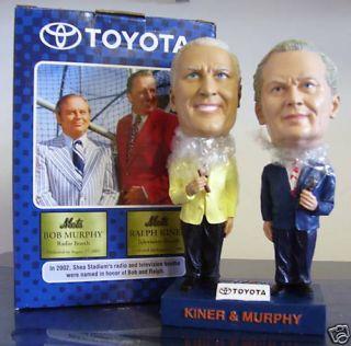 Ralph Kiner Bob Murphy 2003 Mets Bobble Bobblehead SGA