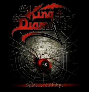 King Diamond CD cvr The Spiders Lullabye Official Shirt XL New
