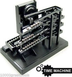 Kinetic Clock Rolling Ball Box Time Machine Keeper Case Can You