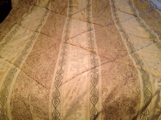 King Size Comforter and Bed Skirt