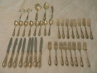 Towle King Richard Sterling Silver 37 Piece Set
