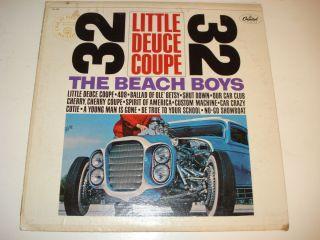The Beach Boys Little Deuce Coupe 12 SM 1998 Capitol LP Hot Rod Surf