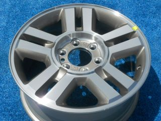 Ford F150 King Ranch P U 18 1 Factory Alloy Wheel 04 08 Arizona Beige