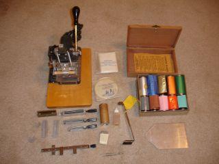 Kingsley Stamp Machine Multi Line Model M 50 Package