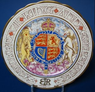 PARAGON1937 King Edward VIII Coronation Plate Charger