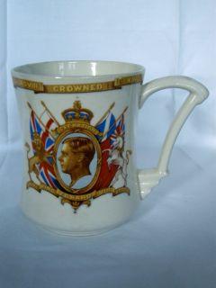 Coronation King Edward VIII Mug May 1937 Tams Ware