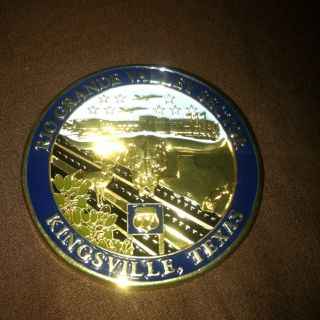 Patrol Rio Grande Valley Sector Kingsville Texas Challenge Coin