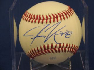 Jason Kipnis Signed Baseball Auto Ball Indians