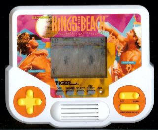 90s KINGS OF THE BEACH PRO VOLLEYBALL ELECTRONIC HANDHELD LCD ARCADE