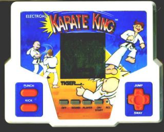 Electronic Karate King Tiger Electronics 1987 LCD