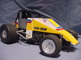 Steve Kinser Knoxville Prototype Sample Members Vintage Sprint Car GMP