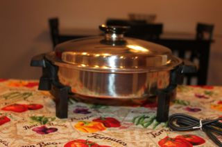 Homemakers Guild Kitchen Craft Royal PR by West Bend Electric Skillet