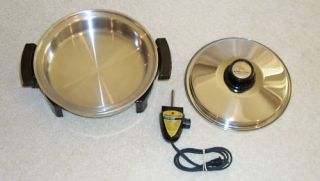 Kitchen Craft Oil Core 11 5 Electric Skillet Fry Pan