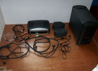 BOSE 321 Home Theater System dvd cd player subwoofer speakers used