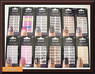 18 Pcs Kiss Nail Wrap Nail Dress Fashion Jeweled Strips Free Nail File