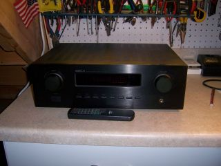 KLH KL 2400 Am FM Stereo Receiver Amplifier with Remote Works Great