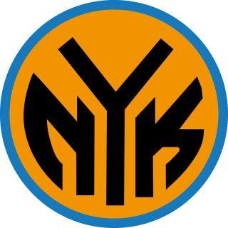 New York Knicks NY Logo Window Wall Sicker Vinyl Car Decal Any Colors