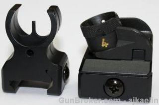 Heckler Koch HK Factory Sights 223 Picatinny Rail Iron Backup Sights