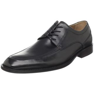 NEW JOHNSTON MURPHY KNOWLAND Black Leather Oxfords Dress Shoes Mens 11
