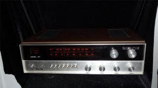 Vtg KLH Receiver Model 57 Excellent Condition