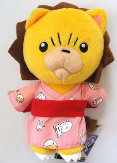 Bleach 8 Kon Wearing Yukata Plush Manga Anime Mint