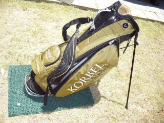 Traction Technology Stand Golf Bag Korbel California Champagne