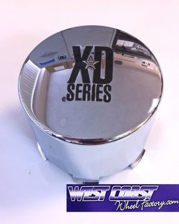 KMC XD Series Chrome Wheel Rim Center Cap Part 1001125