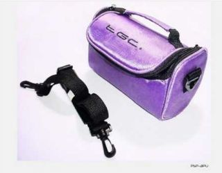 Electric Purple Carry Case Bag for Kodak EasyShare Max Z990 Camera