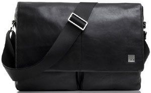 Knomo Bags Brompton Kobe 15 Soft Leather Messenger Bag Business Case